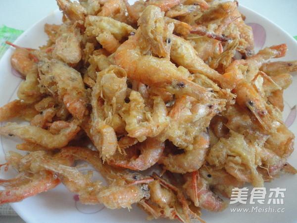 炸河虾成品图