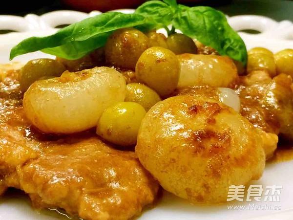 意大利洋葱焖肉成品图