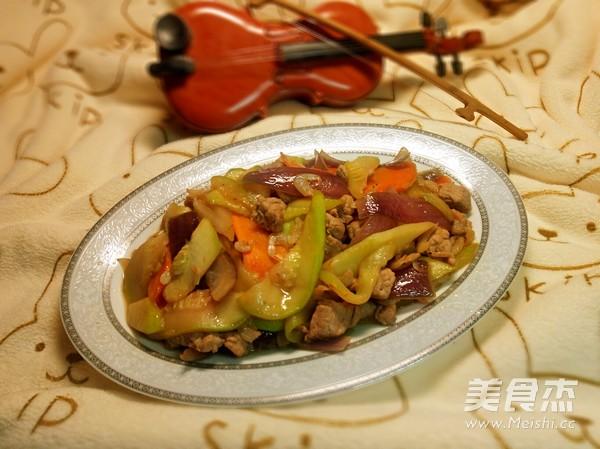 西葫芦炒肉怎么煸