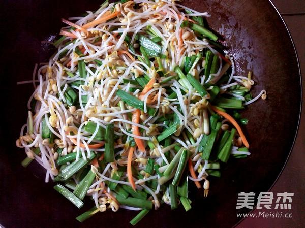素炒豆芽怎么吃