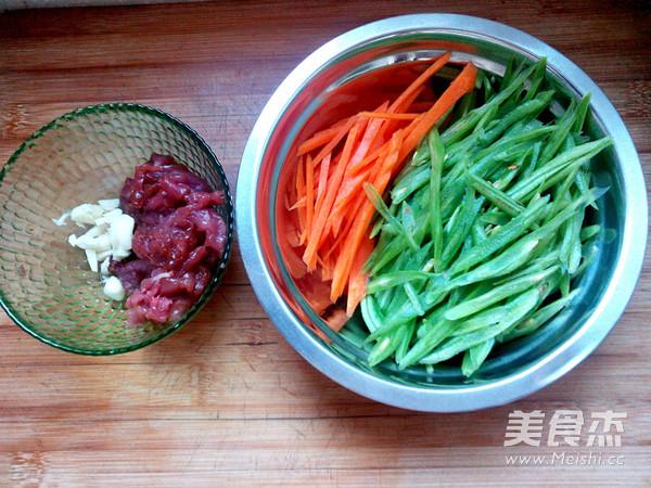 豆角丝炒肉的做法大全