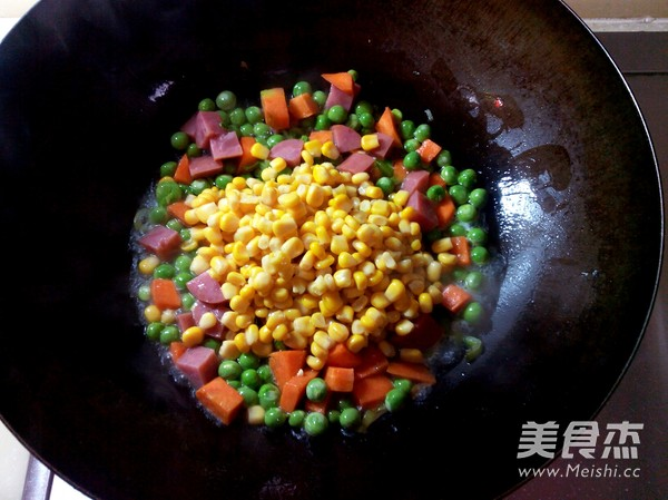 什锦玉米粒怎么做