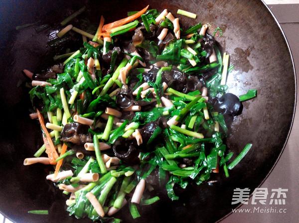 韭菜炒海肠怎么煮