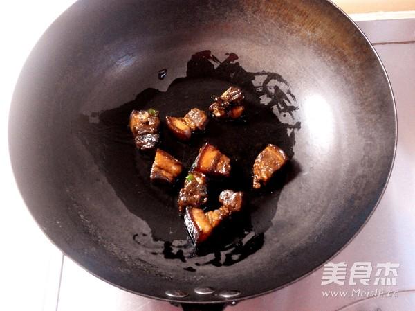 红烧肉炖干豆角的做法图解