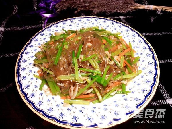 芹菜炒粉条怎么炒