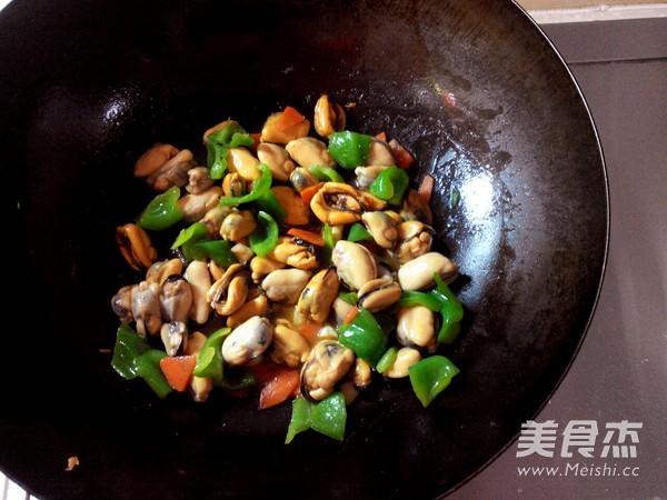 青椒炒贻贝怎么煮