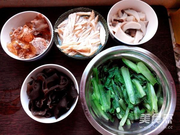 红烧排骨什锦菜的做法大全