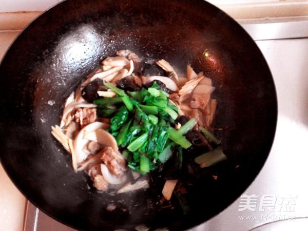 红烧排骨什锦菜怎么炒