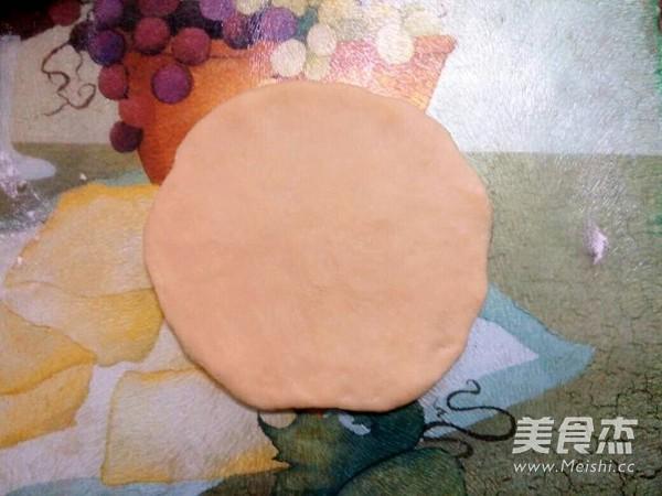 菊花豆沙面包怎么吃