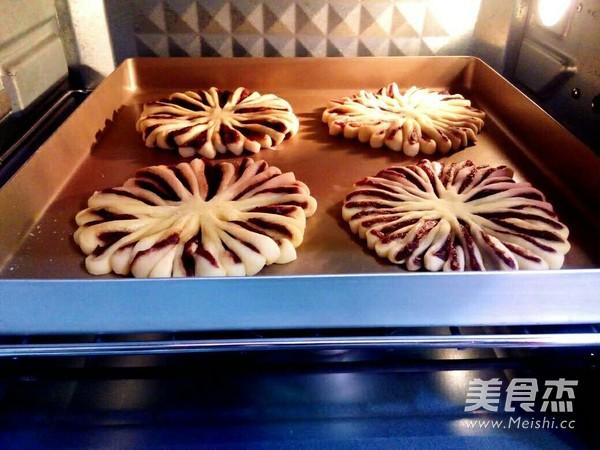 菊花豆沙面包怎样煮