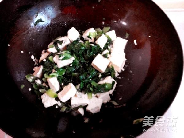 豆腐炒白菜怎么吃