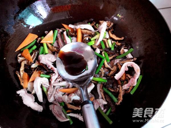 香菇干炒肚条怎么炒