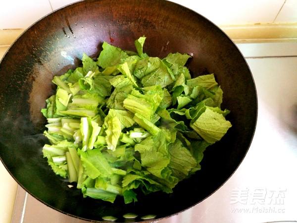 小白菜冻豆腐汤的简单做法