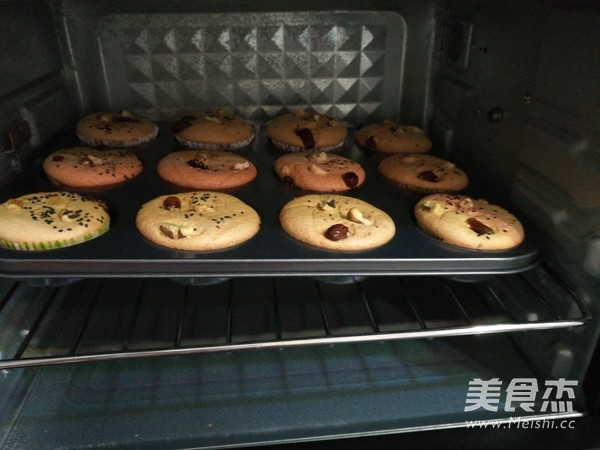 戚风小蛋糕的制作方法