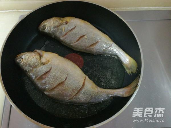 煎蒸大黄鱼的家常做法