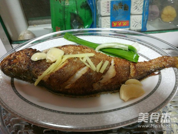 煎蒸大黄鱼怎么吃
