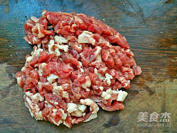 香椿牛肉豆腐的做法图解