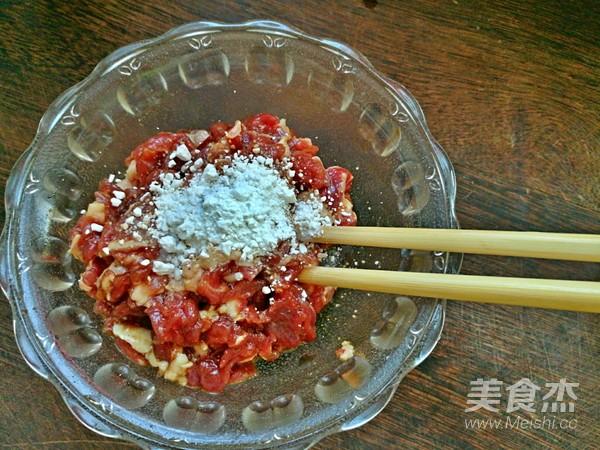 香椿牛肉豆腐的简单做法