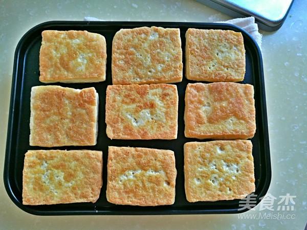 香椿牛肉豆腐的制作方法