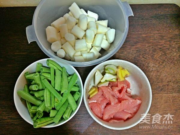 豆角山药炒肉的做法大全
