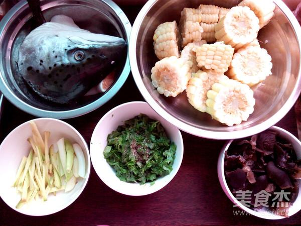 鱼头玉米的做法图解