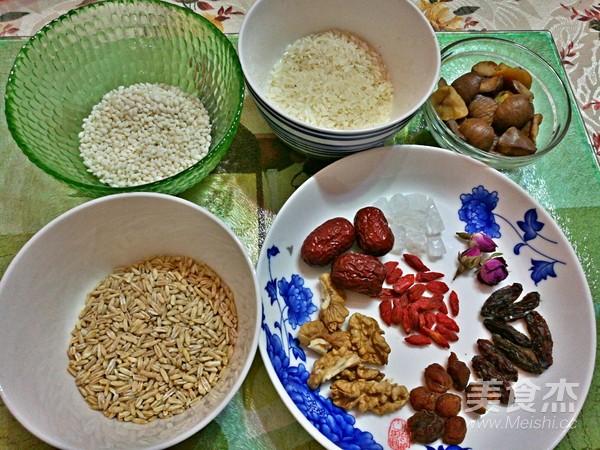 栗仁燕麦香米粥的做法图解