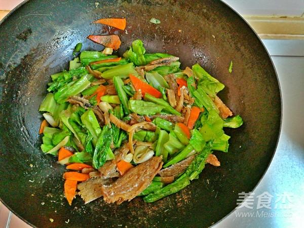带鱼油麦菜怎么炒