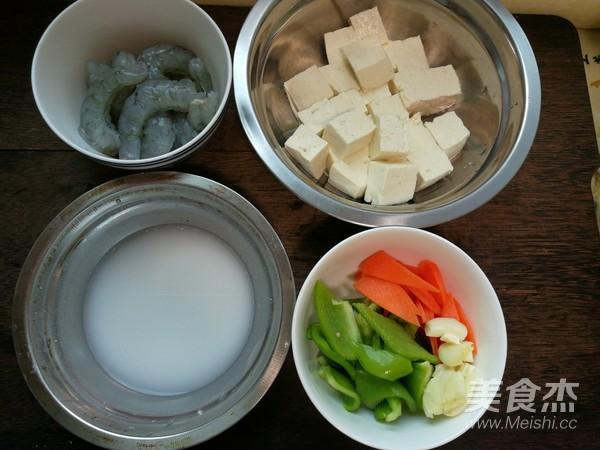 虾仁滑炒豆腐的做法大全