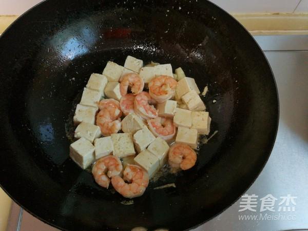 虾仁滑炒豆腐怎么做