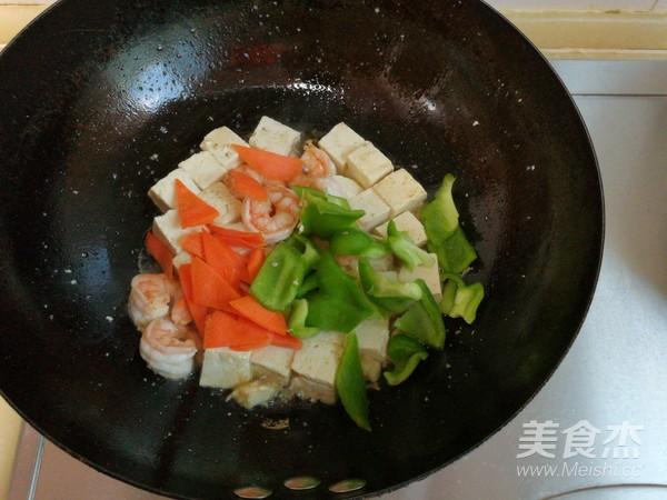 虾仁滑炒豆腐怎么炒