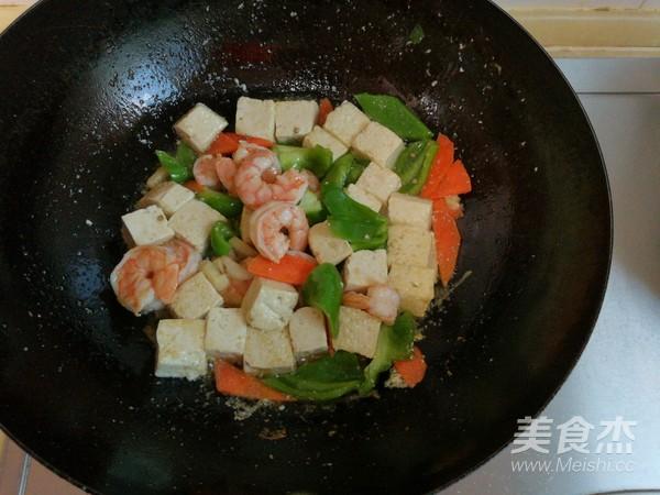 虾仁滑炒豆腐怎么煮