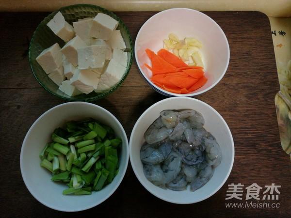 豆腐熘虾仁的做法大全
