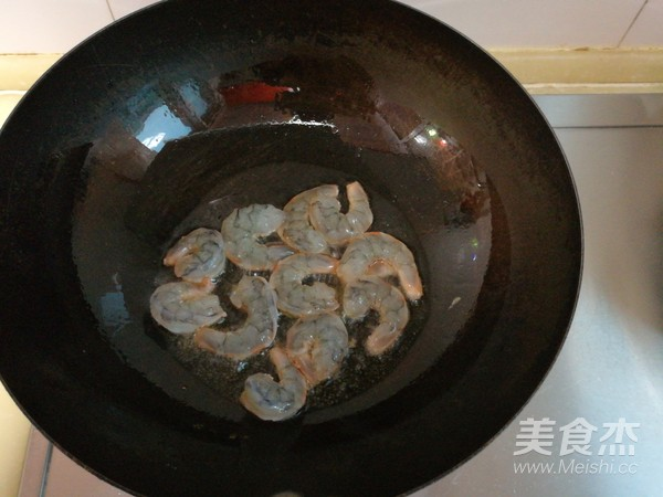 豆腐熘虾仁的做法图解
