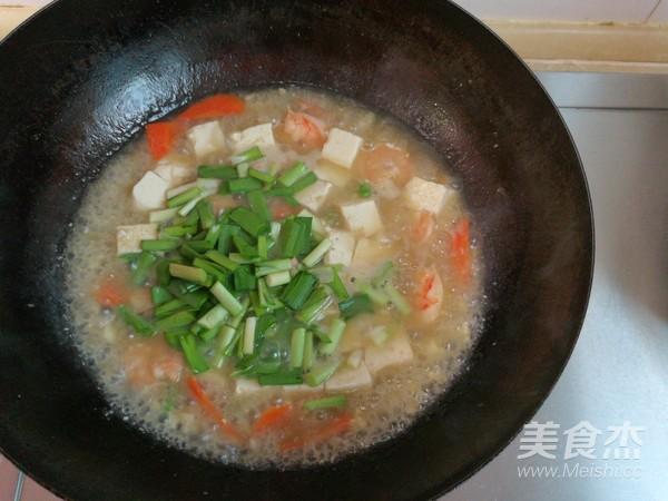 豆腐熘虾仁怎么煸
