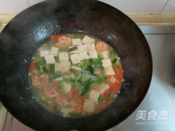 豆腐熘虾仁怎样煸