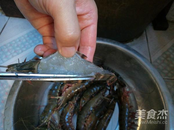 欧芹竹节虾的家常做法