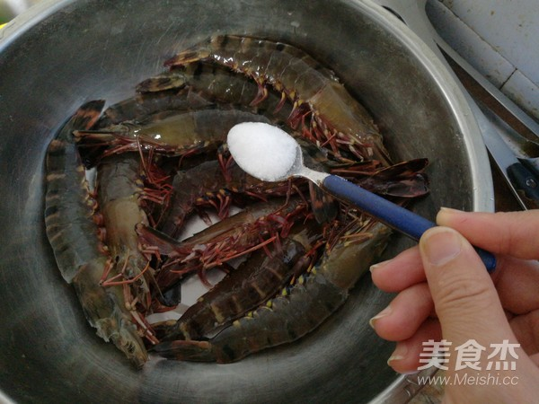 欧芹竹节虾的简单做法