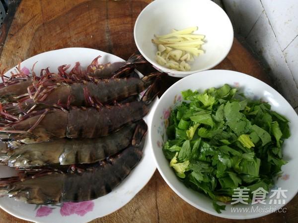 欧芹竹节虾怎么煮