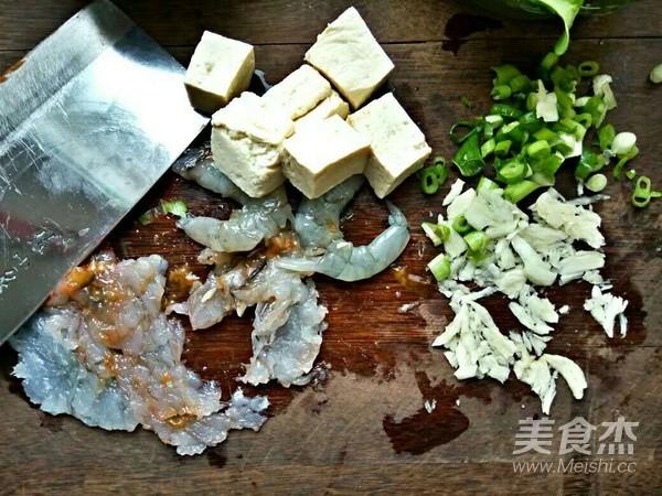 小白菜虾泥豆腐丸子汤的做法大全