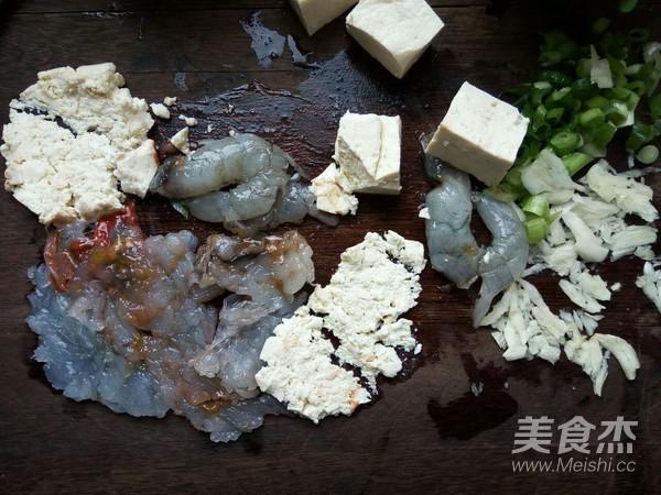 小白菜虾泥豆腐丸子汤的做法图解