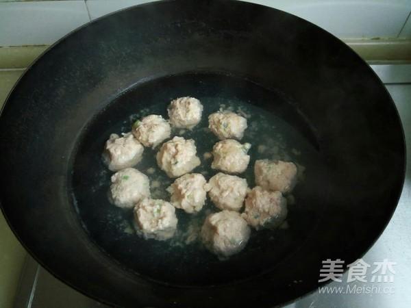 小白菜虾泥豆腐丸子汤怎么做