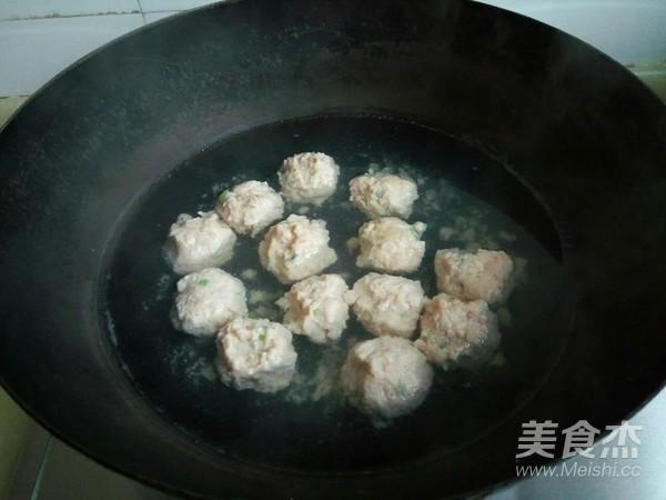 小白菜虾泥豆腐丸子汤怎么炒