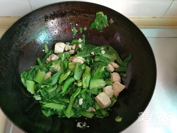 小白菜冻豆腐排骨汤的家常做法