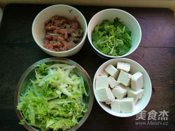 牛肉白菜豆腐汤的做法大全