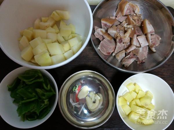 肘子肉炖土豆青椒的做法大全
