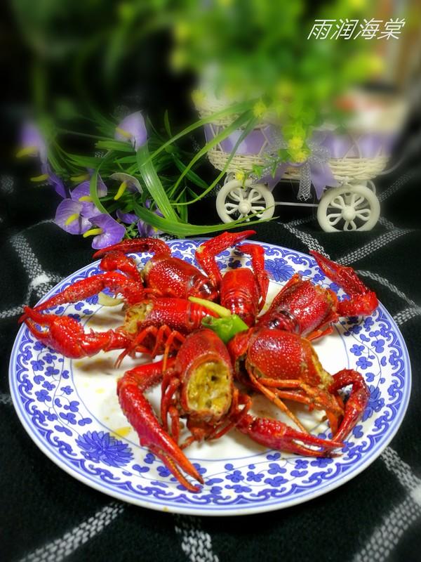 蒜香小龙虾成品图