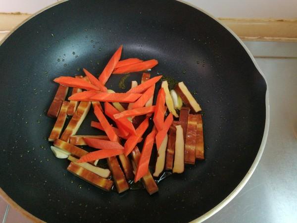 莴笋豆干的简单做法