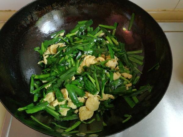 韭菜炒鸡蛋怎样做