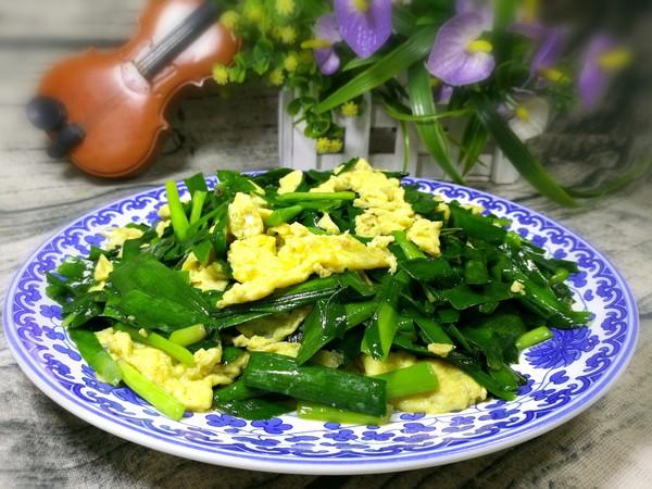 韭菜炒鸡蛋怎样炒