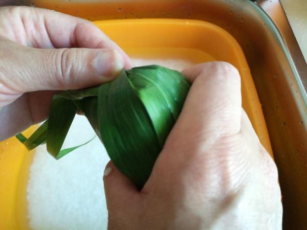 果干粽子的制作